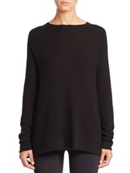 The Row Banny Boatneck Sweater Pale Blue Black