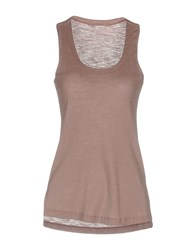 Transit Par Such Tank Tops Dove Grey