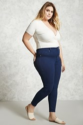 Forever 21 Plus Size Skinny Jeans Indigo