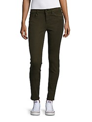 Joe's Jeans Posh Stretch Denim Pants Military Green