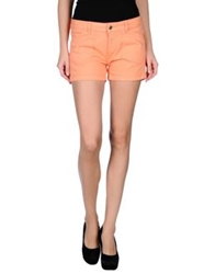Franklin And Marshall Denim Shorts Salmon Pink