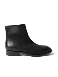 The Last Conspiracy Zipped Ankle Boots Black