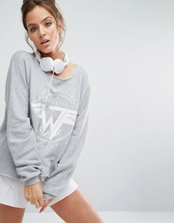 Wildfox Couture On Tour Terry Sweat Heather Grey