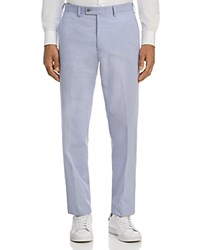 Bloomingdale's The Store At Pincord Classic Fit Cotton Dress Pants 100 Exclusive Light Blue