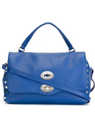 Zanellato Small Postina Satchel Blue