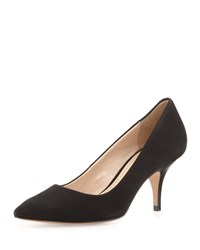 Pour La Victoire Isa Suede Dress Pump Black
