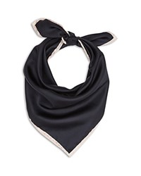 Reiss Twiggy Silk Scarf Black
