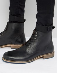 Kg By Kurt Geiger Winston Leather Boots Black