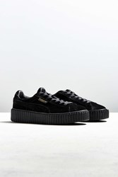 Puma Fenty By Rihanna Women's Velvet Creeper Sneaker Black