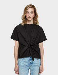Farrow Belina Tie Blouse In Black