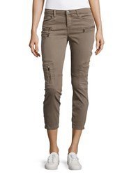 Blank Nyc Cropped Cargo Pants Beige