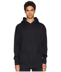 Yohji Yamamoto Adidas Y 3 By Stacked Logo Hoodie Black Core White Sweatshirt