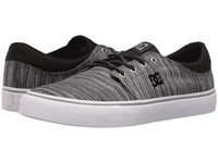 Dc Trase Tx Se Black Grey Grey Skate Shoes