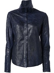 Isaac Sellam Experience Crease Effect Jacket Black