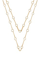 Five And Two Joanna Necklace Metallic Gold