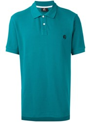 Paul Smith Ps By Chest Embroidery Polo Shirt Green
