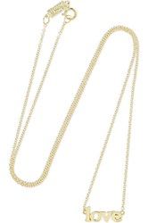 Jennifer Meyer Love 18 Karat Gold Necklace One Size