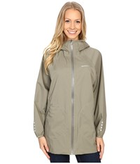 Merrell Sunstark Poncho Putty Women's Coat Taupe