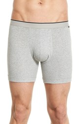 Nordstrom Men's Stretch Boxer Briefs Grey Charcoal Black