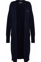 Markus Lupfer Rosin Embellished Knitted Cardigan Midnight Blue