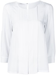 Barba Loose Fit Blouse White