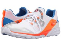 Reebok Zpump Fusion 2.0 Tin Grey White Opal Electric Peach Blue Sport Men's Running Shoes