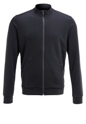 Zalando Sports Tracksuit Top Black