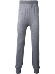 Onebyme Seamless Knit Joggers Grey