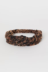 Handm H M Hairband With Knot Detail Beige