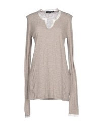 Adele Fado Sweaters Dove Grey