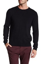 Qi Cashmere Crew Neck Sweater Black