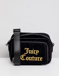 Juicy Couture Black Label Pixley Embroidered Logo Cross Body Bag