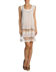 Twin Set Simona Barbieri Cover Ups White