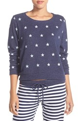 Women's Make Model 'Americana' Crewneck Pullover