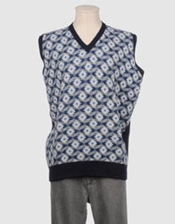 Laurence Smith Sweater Vests Blue