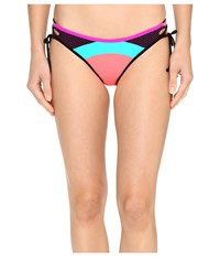 Body Glove Borderline Tie Side Mia Bottoms Vivo Women's Swimwear Multi