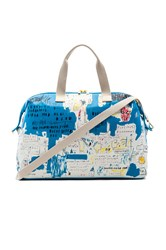 Alice Olivia Basquiat Ascent Weekender Bag Blue