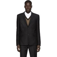 Fendi Black Forever Faded Blazer