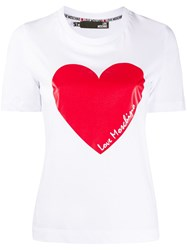 Love Moschino Heart Logo T Shirt 60