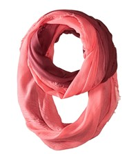 Michael Stars Sunset Breeze Eternity Scarf Sea Lily Scarves Pink