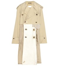 Maison Martin Margiela Cotton Coat Beige