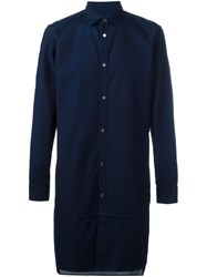 Public School 'Rylan' Long Shirt Blue
