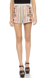 Minkpink Space Cowboy Shorts Multi