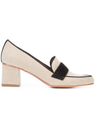 Tabitha Simmons 'Margo' Loafer Nude Neutrals