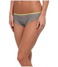 Josie Wild Flower Tanga Smoke Citrus Women's Underwear Yellow