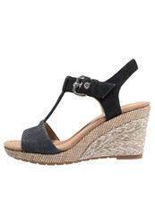 Gabor Platform Sandals Nightblue Dark Blue