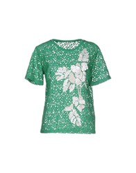 P.A.R.O.S.H. Shirts Blouses Women Green