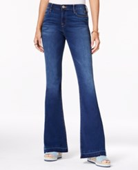Tommy Hilfiger Weston Released Hem Marine Blue Wash Flared Jeans Only At Macy's