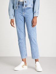 Maje Pario Washed Out Denim Jeans