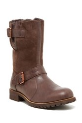 Australia Luxe Collective Easy Rider Genuine Skeepskin And Shearling Boot Brown